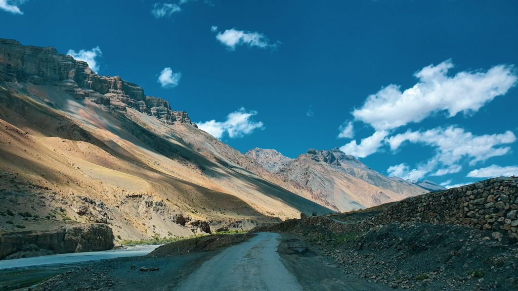 A beautiful place in Spiti Valley.