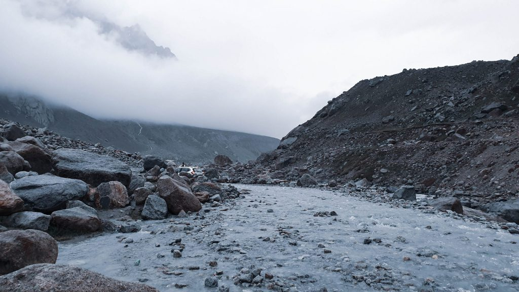 A stream on way to Spiti Valley from Manali.