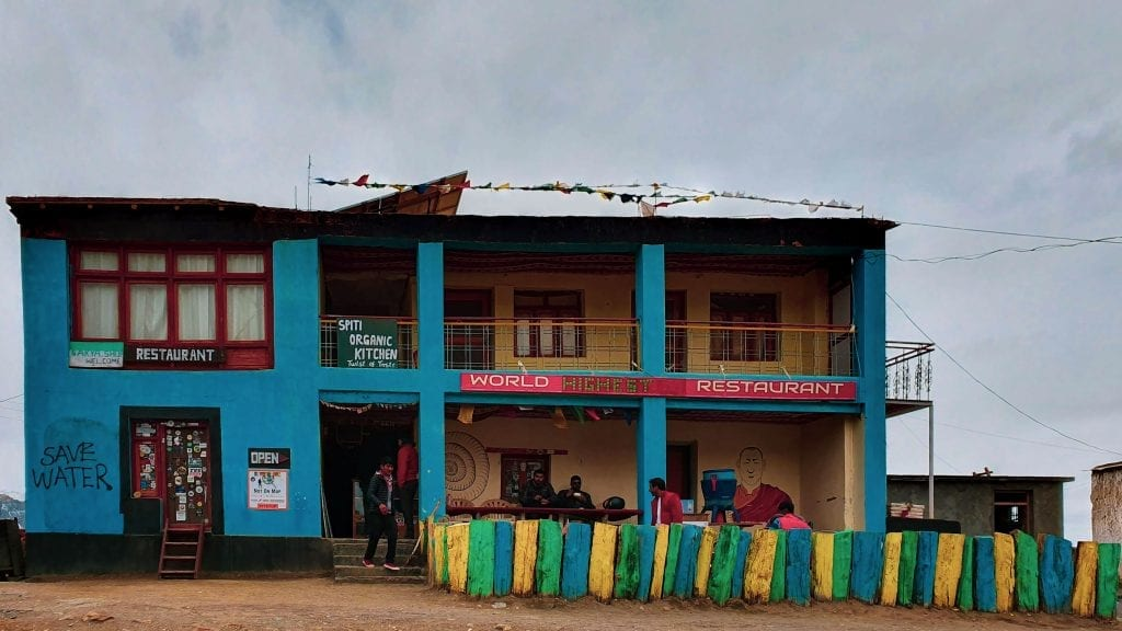 Spiti Organic Kitchen in Komic Village in Spiti Valley