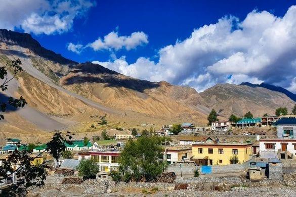 Fantastic View from Hotel Zangchuk in Kaza