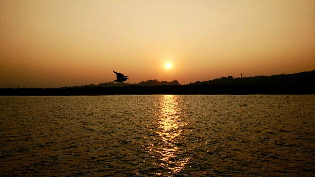 Sunset in Naf River
