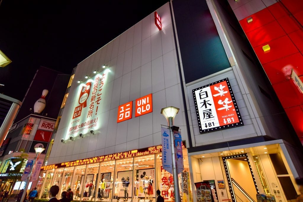 You should buy clothes from UNIQLO in Japan