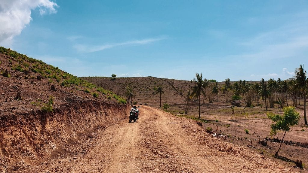 Biking is a good thing to do in Ekas in Lombok