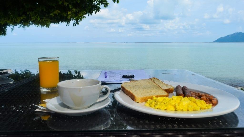 Breakfast in Langkawi