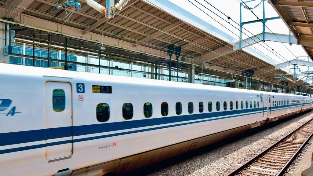 You must use a bullet train or Shinkansen if you are traveling to Japan for the first time