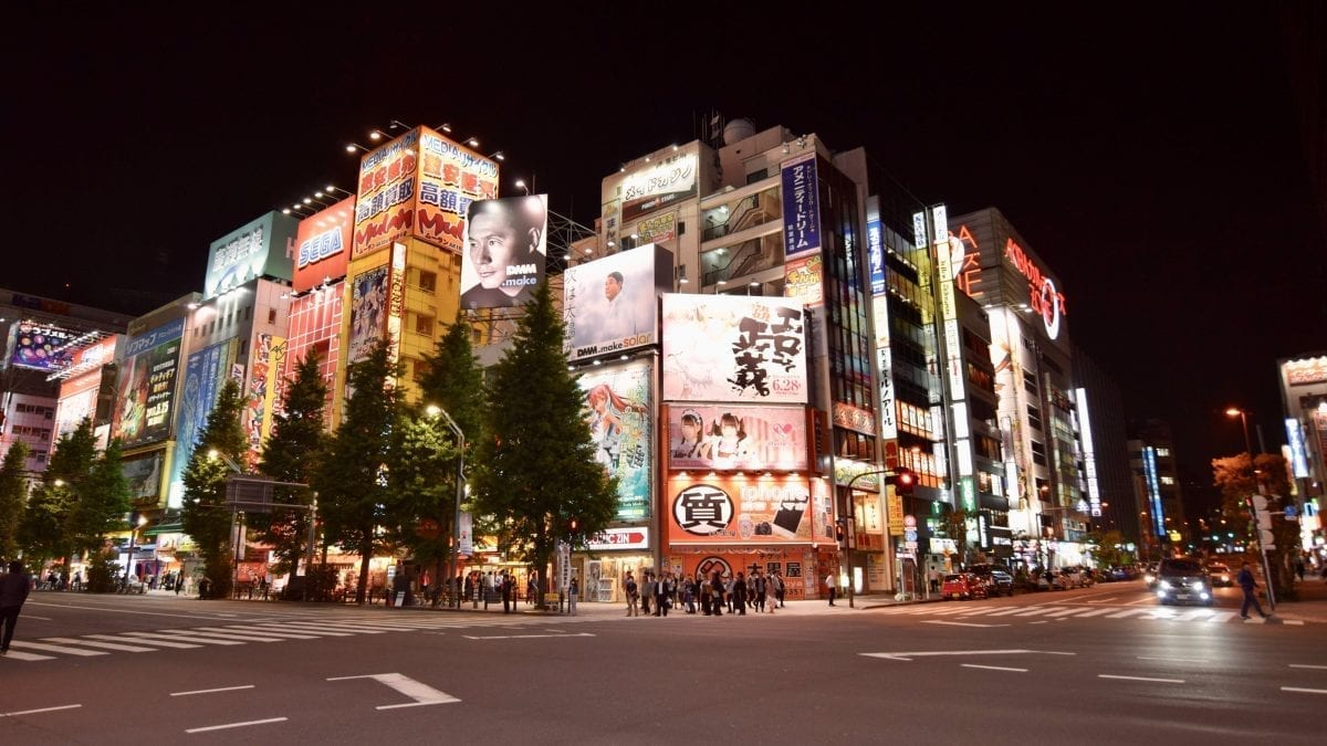 Japan at Night - Tips for Traveling to Japan for the First Time