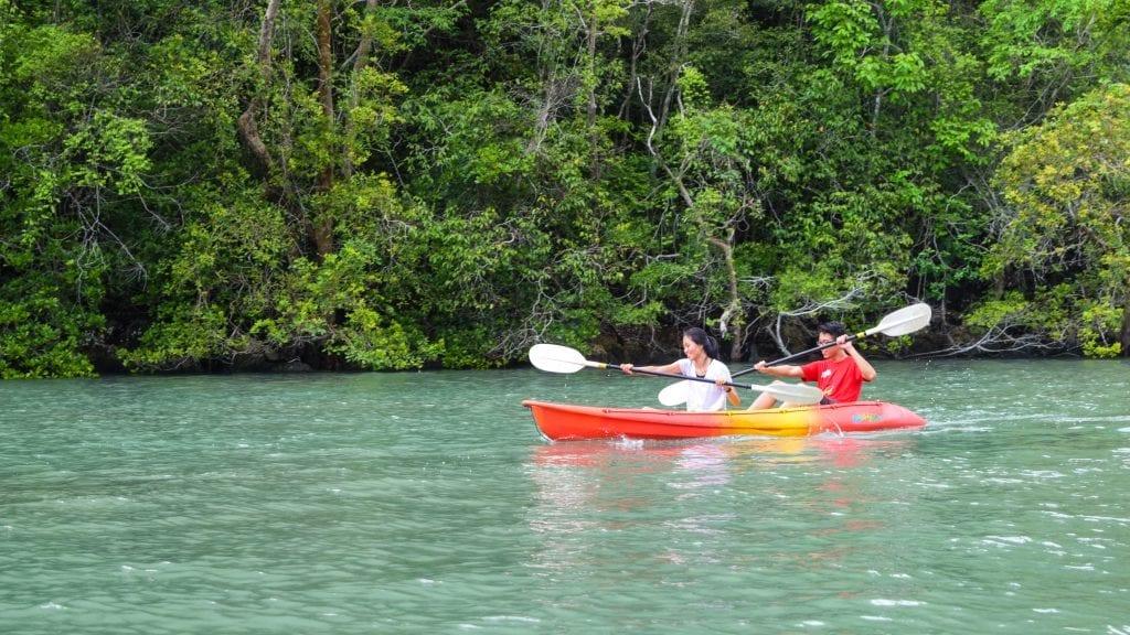 Kayaking in Langkawi