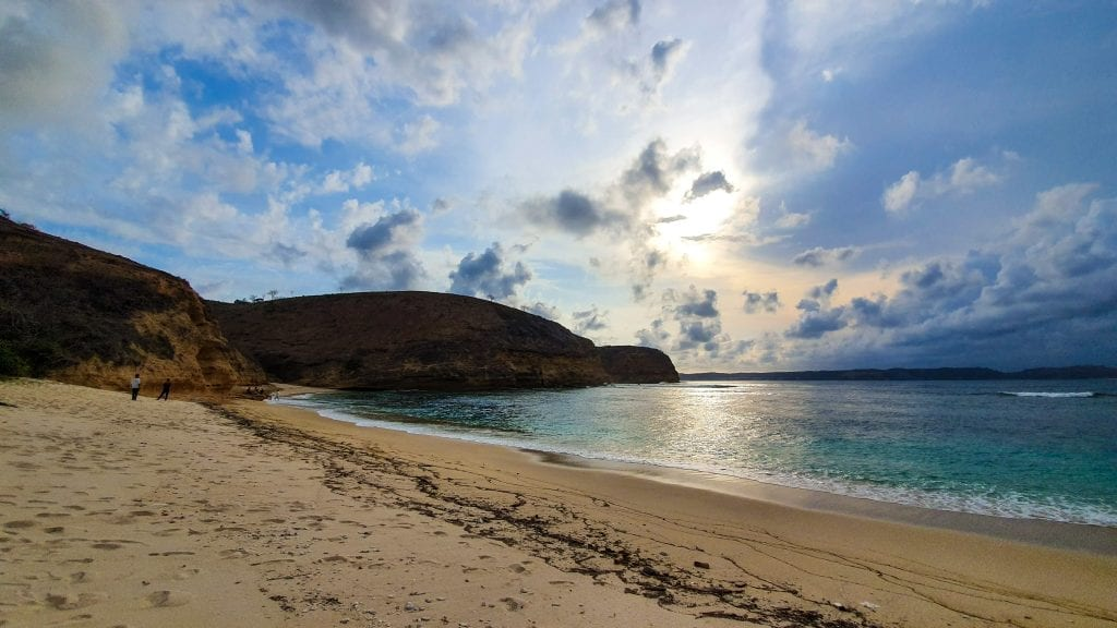 The best beach in Ekas, Lombok is paradise beach