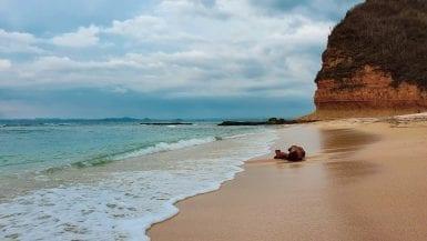 Quiet Paradise Beach in Ekas Lombok