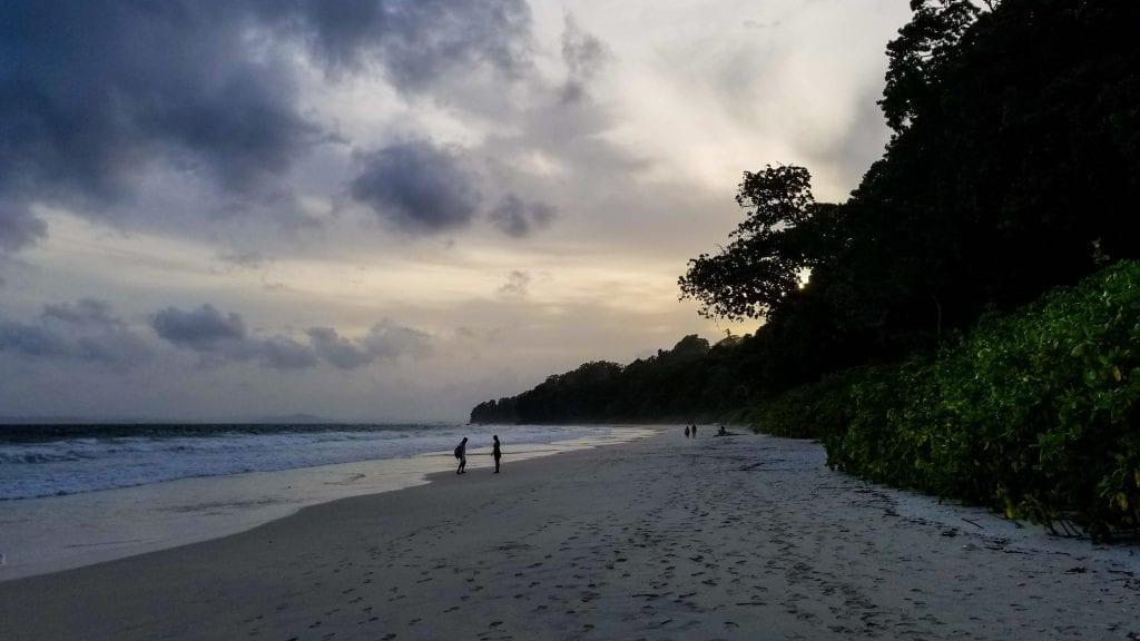 Sunset in Radhanagar Beach