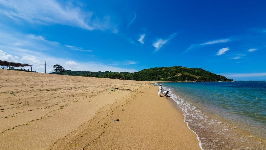 Areguling Beach in Lombok