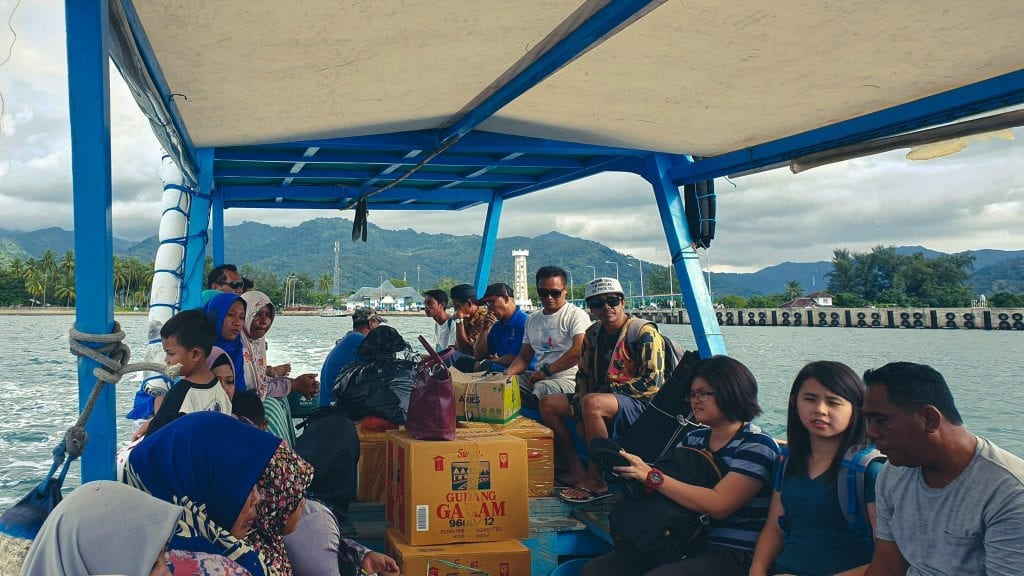 Boat to Gili Air