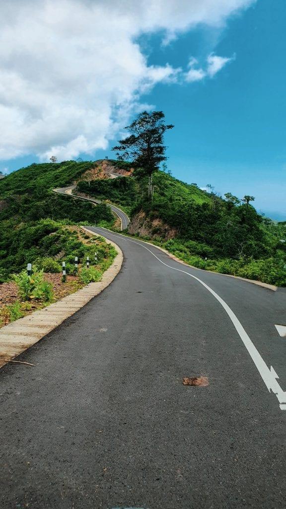Curvy Road in Sekotong Lombok