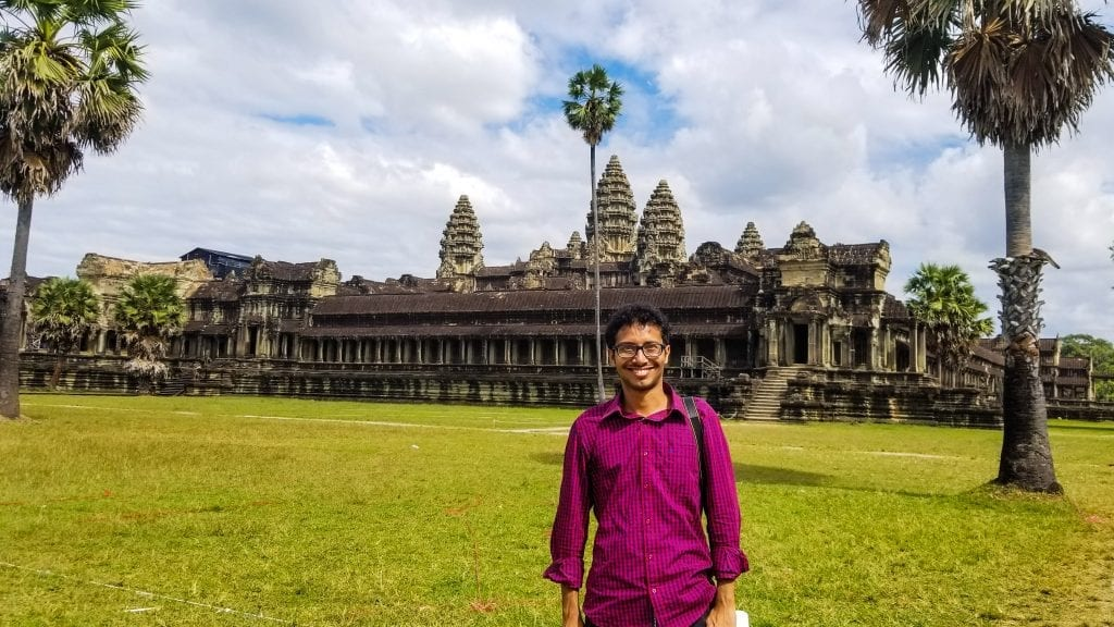 Fuad in Angor Wat
