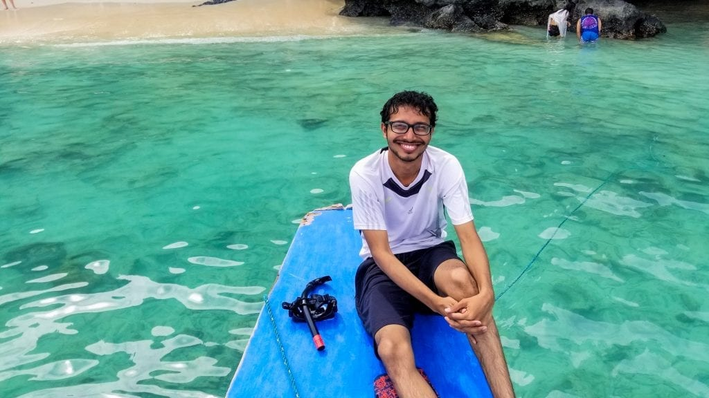 Fuad in Boracay