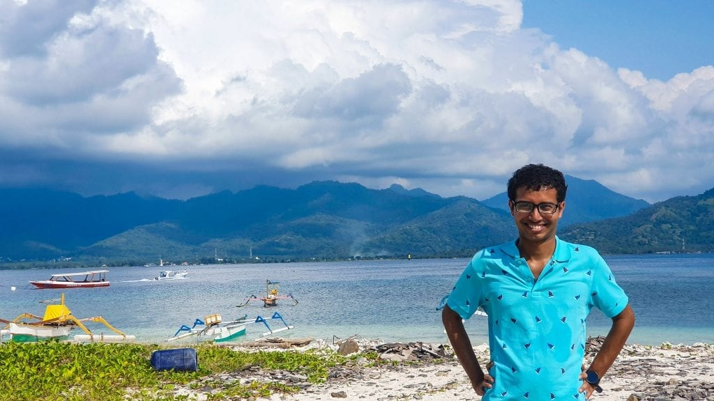 Fuad in Gili Air