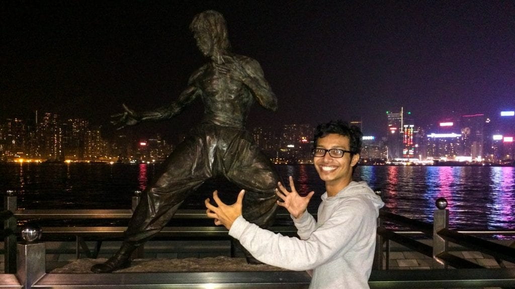 Fuad in Hong Kong