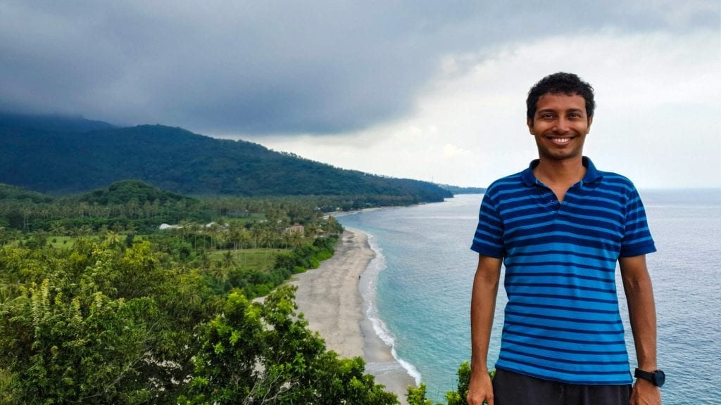 Fuad in Lombok