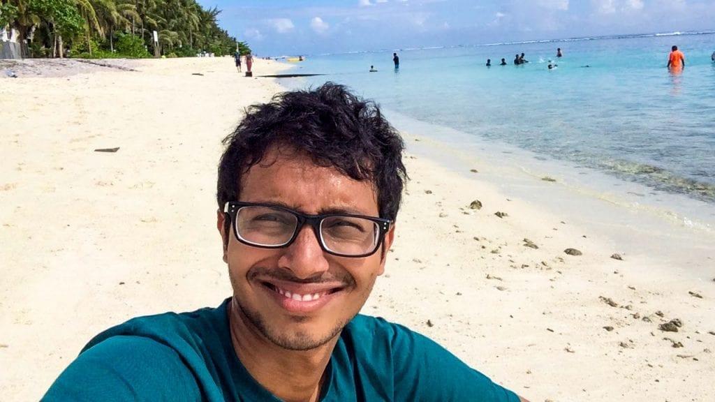 Fuad in Maldives