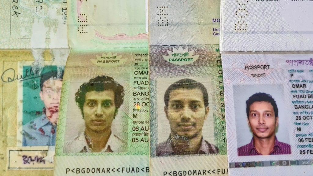 Passport of Fuad