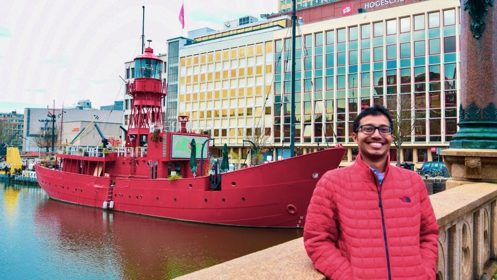 Fuad in Rotterdam