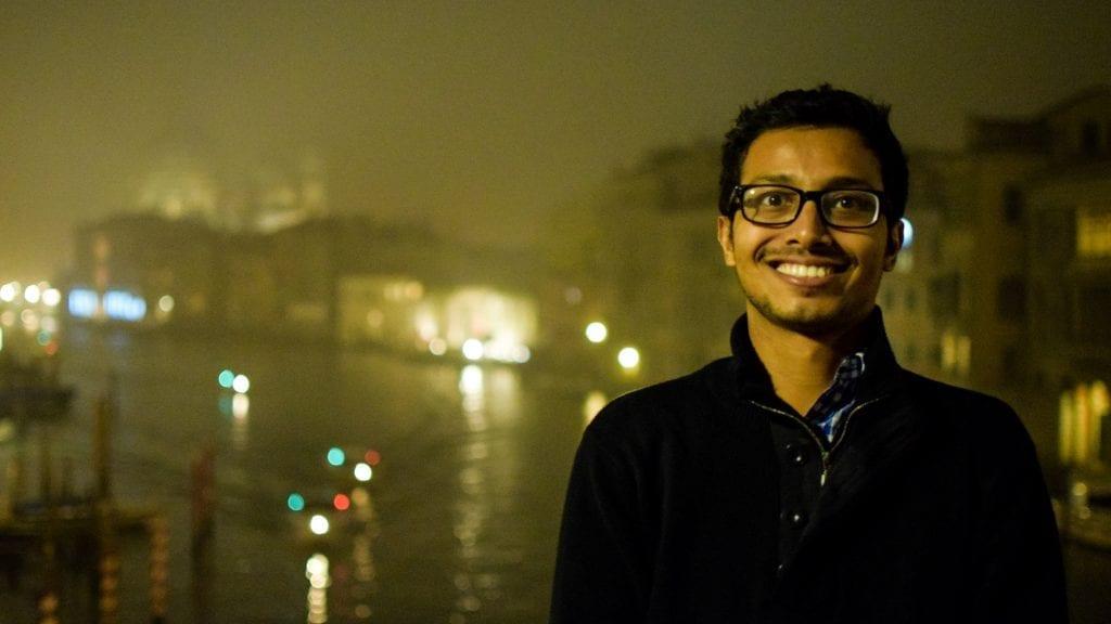 Fuad in Venice