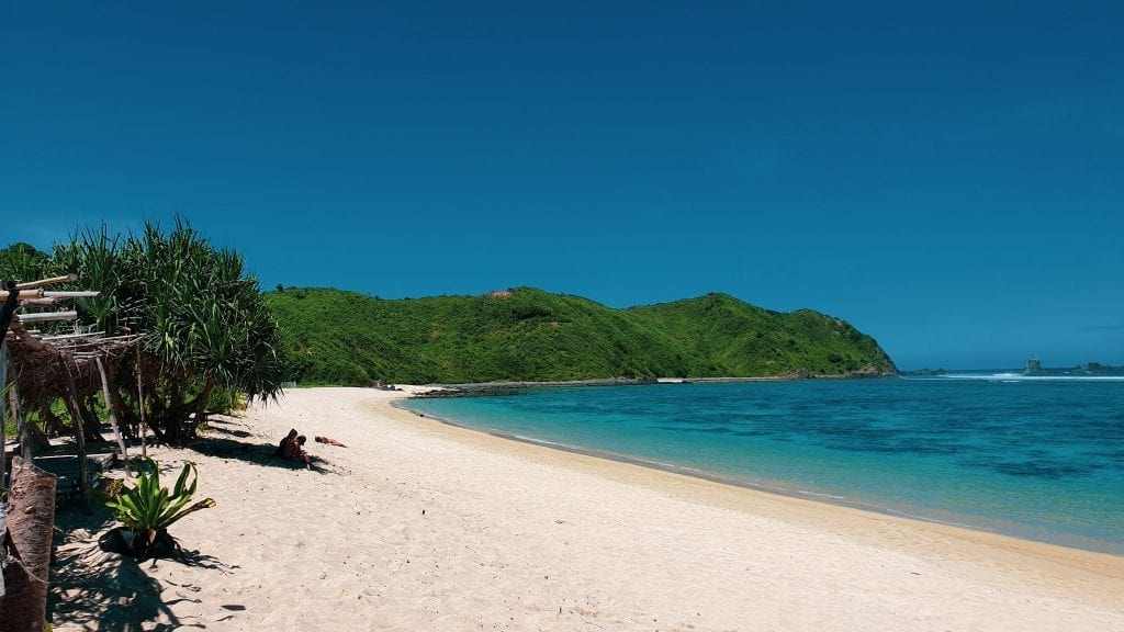 Lancing Beach near Kuta Lombok