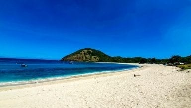 Mawun Beach in Lombok