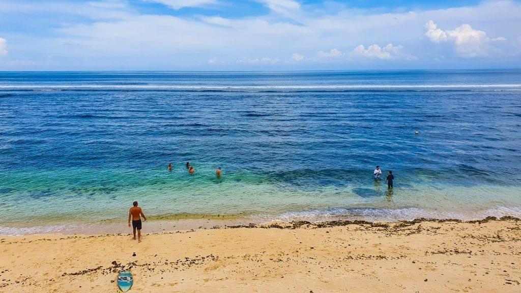 Ocean View in Bingin Beach Bali