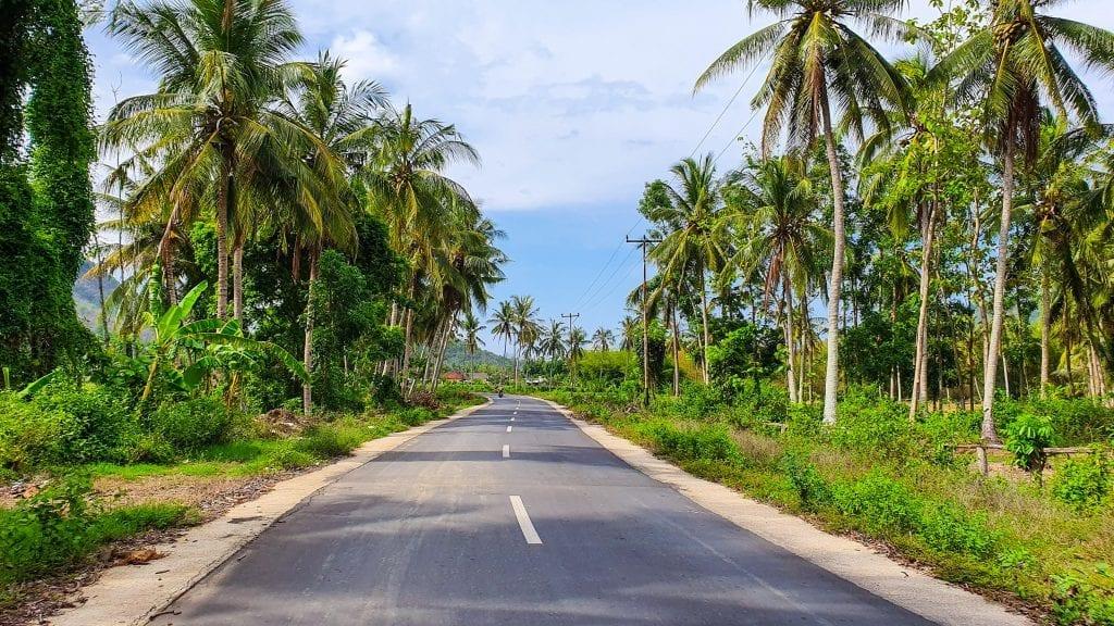 Plain Road in Sekotong