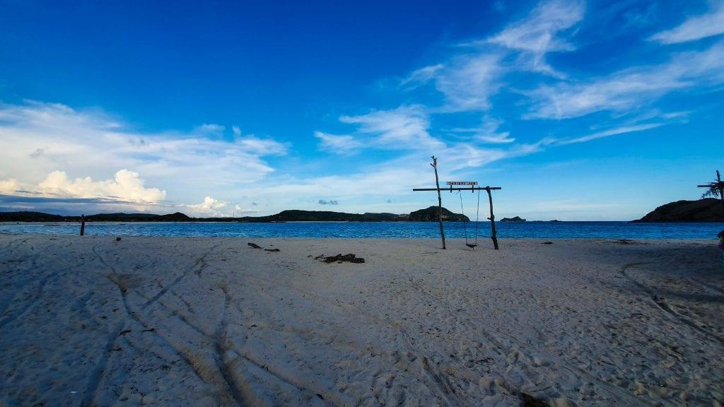 Swing in Tanjung Aan