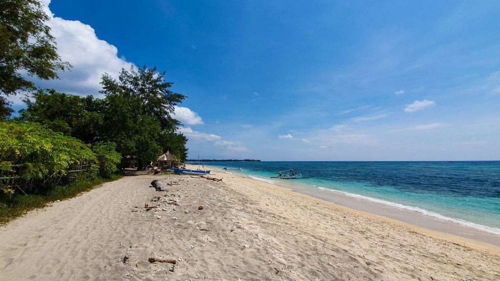 Unknown Beach on Gili Air
