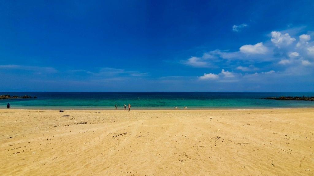 Beautiful Ocean in Phra Ae Beach on Koh Lanta
