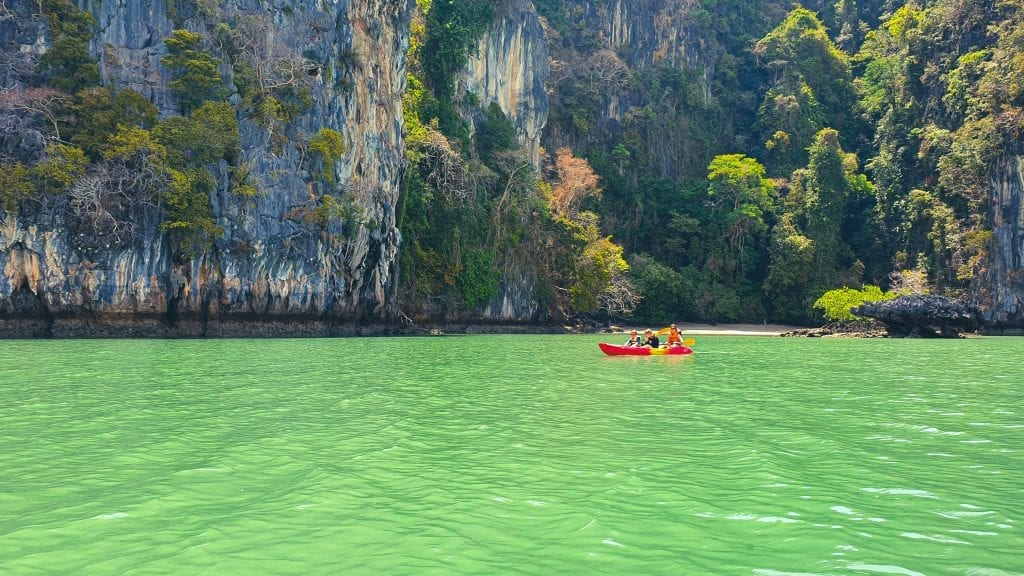 Kayaking in Koh Lanta