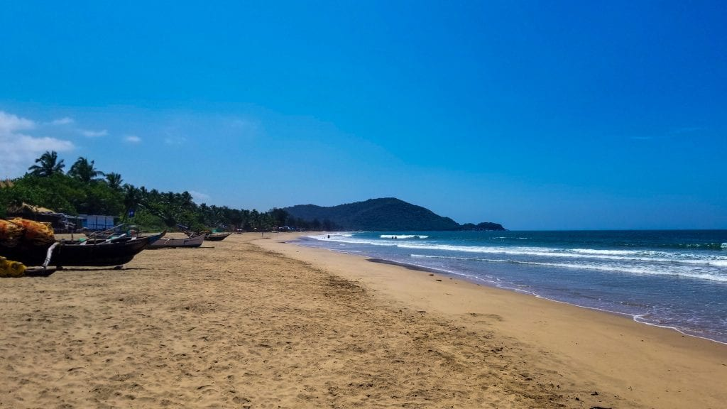 Among the places to visit in Goa in 2 days, Agonda Beach should be on top of your list.