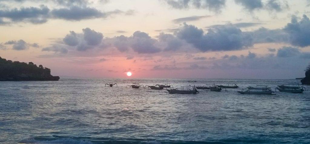 Crystal Bay in Nusa Penida
