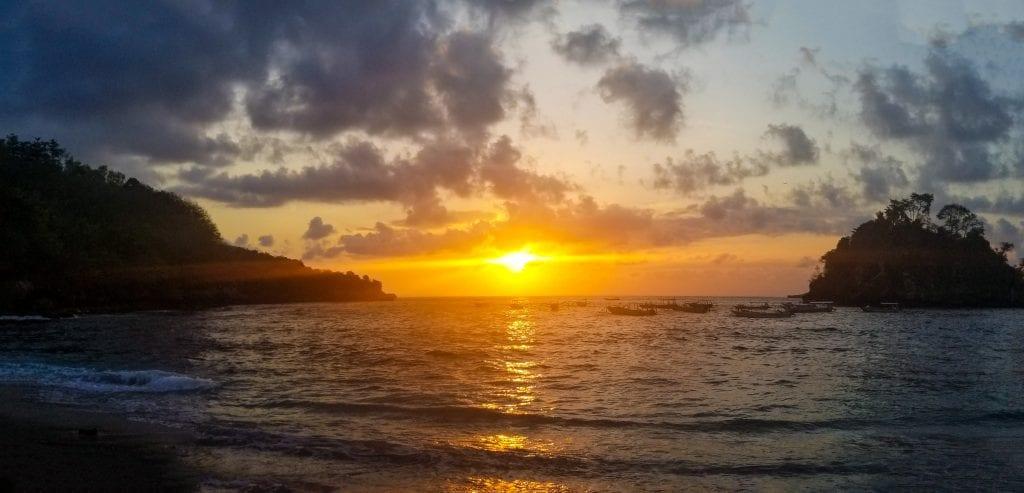 Sunset at Crystal Bay
