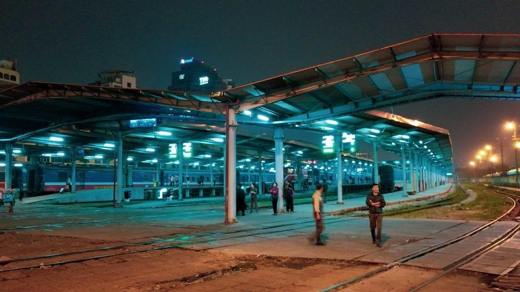 Inside Hanoi Train Station
