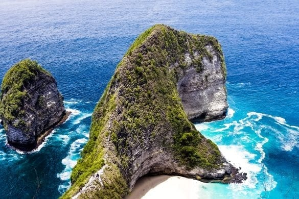 Kelingking in Nusa Penida