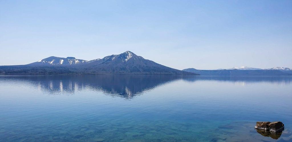 Lake Shikotsu in Hokkaido is a wonderful day trips from Sapporo.