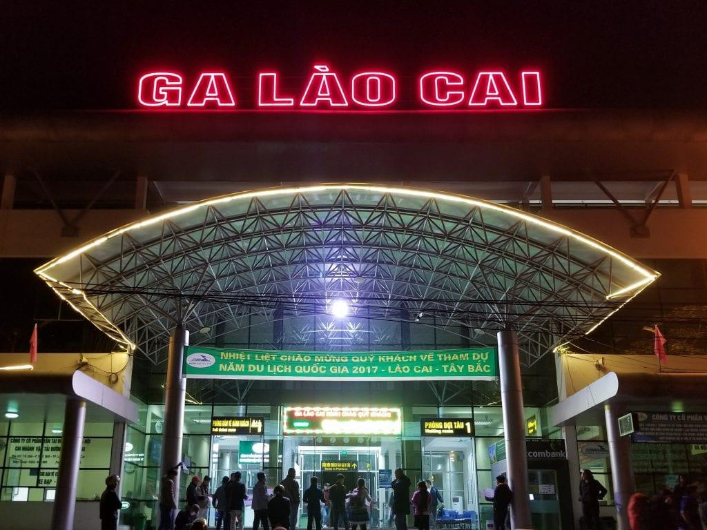 Lao Cai Station near Sapa
