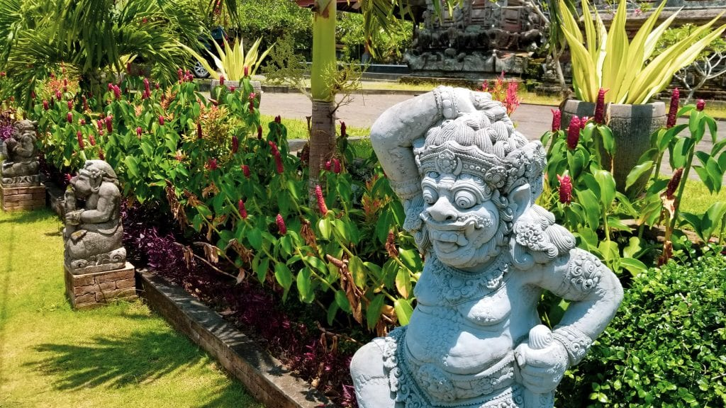 Statues in Ubud