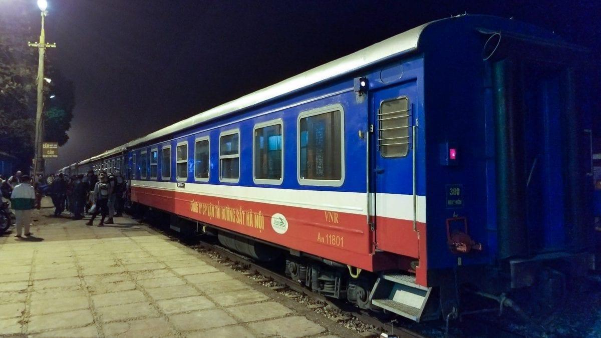 Train to Sapa from Hanoi