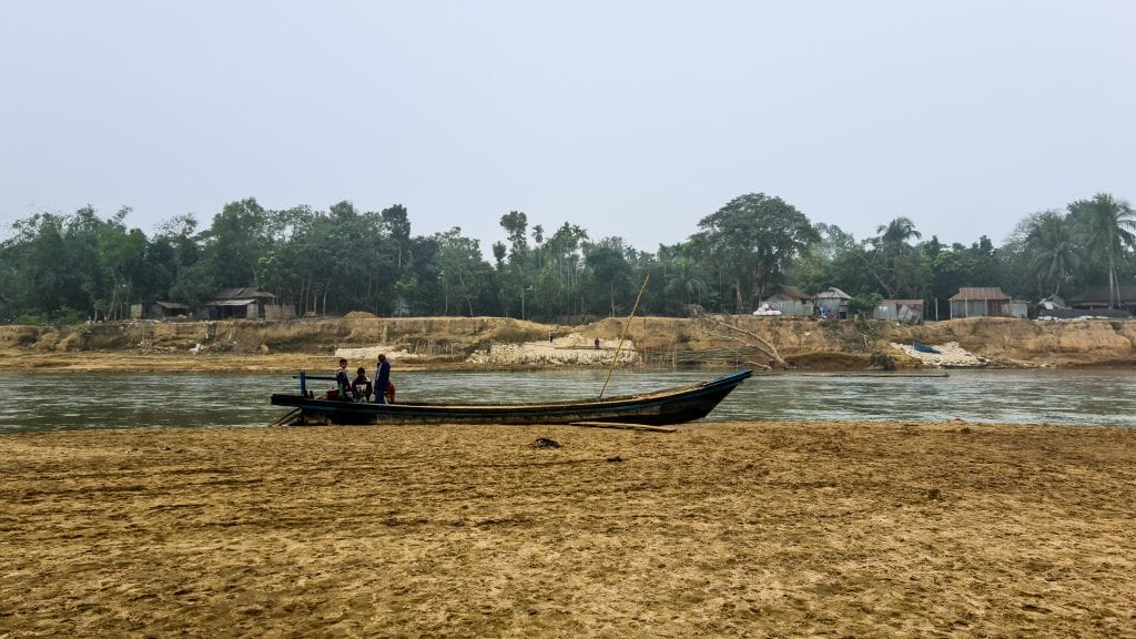 Boat For Crossing River in Bangladesh