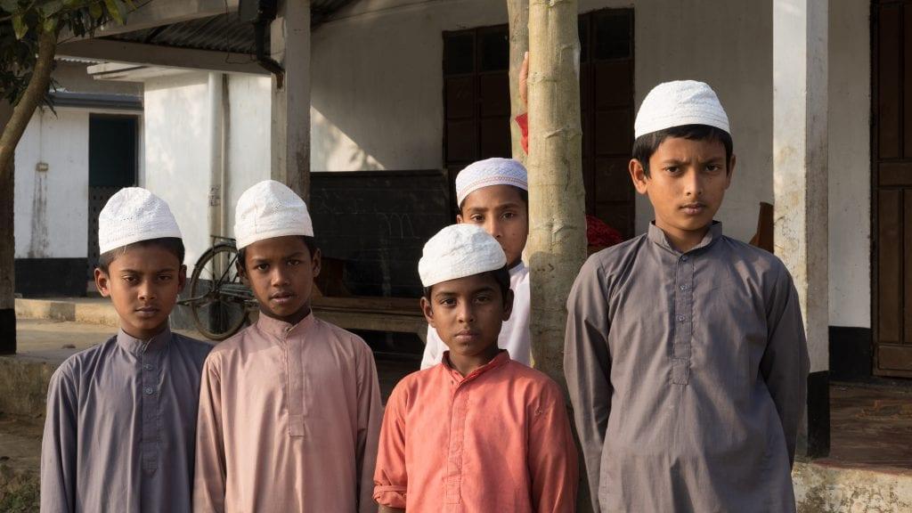 Children at Madrasa in Birishiri, Bangladesh