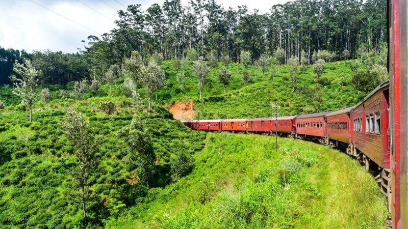 Colombo to Ella Train Journey