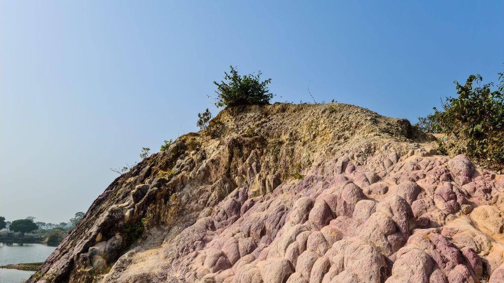 Colorful Clay Mountain in Birishiri