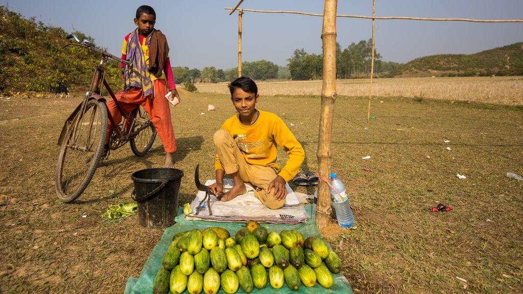 Cucumber Seller in Birishiri