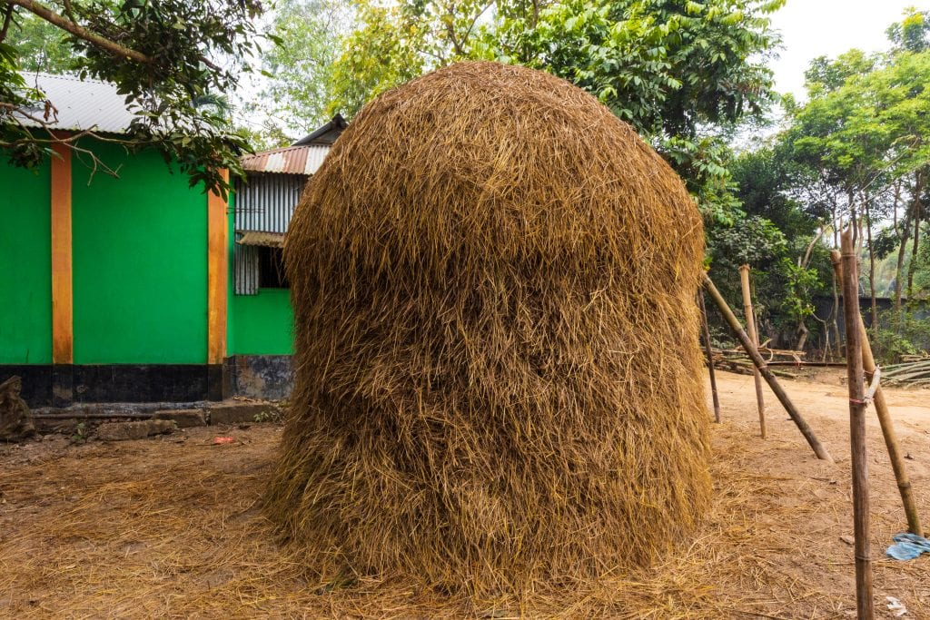 Haystack in Bangladesh