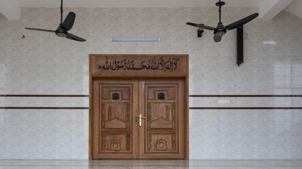 Insaf Mosque in Birishiri